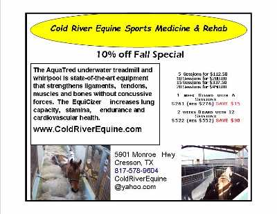 10-15% off Horse Fitness at Cold River